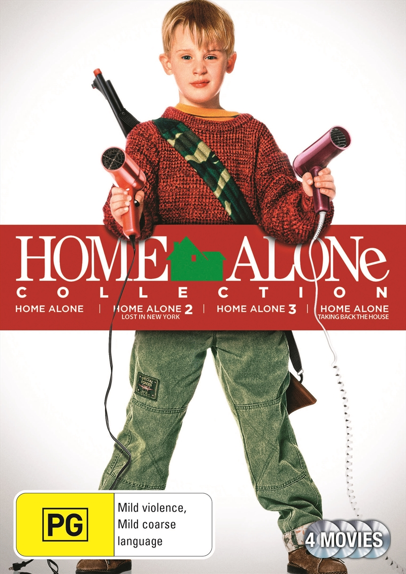 Buy Home Alone Collection On Dvd Sanity