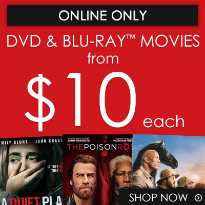 Buy Movies on DVD & Blu-ray from $10