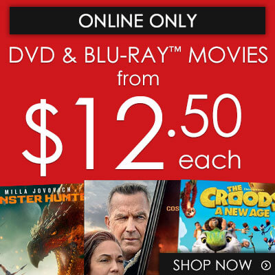 Buy Movies on DVD & Blu-ray from $12.50