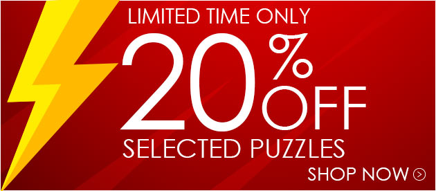 Save 20% Off Selected Puzzles