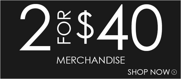 Buy 2 Merch Items For $40