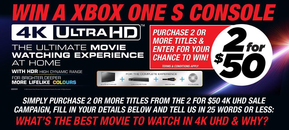 Win a XBOX One S Console!