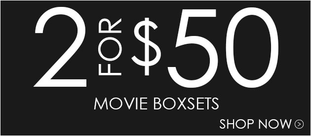 Buy 2 Boxsets for $50