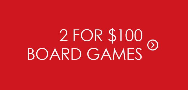 Shop 2 for $100 Board Games & Merch