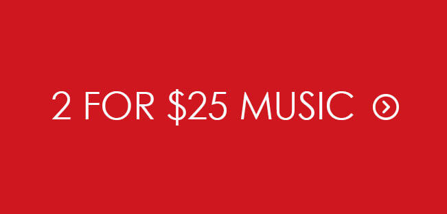 Shop 2 for $25 CD