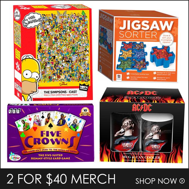 Shop 2 for $40 Puzzles & Merch