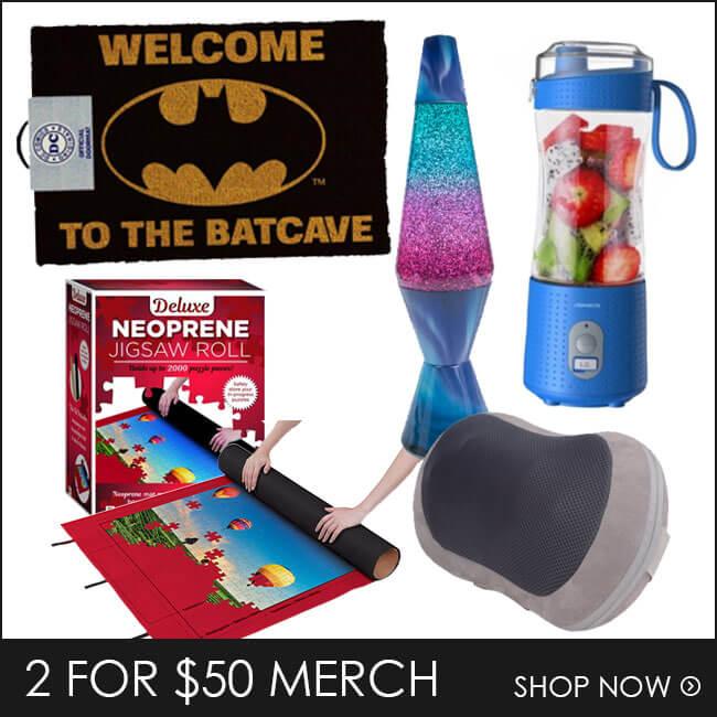 Shop 2 for $50 Merch