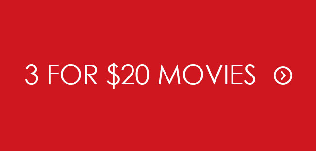 Shop 3 for $20 Movies