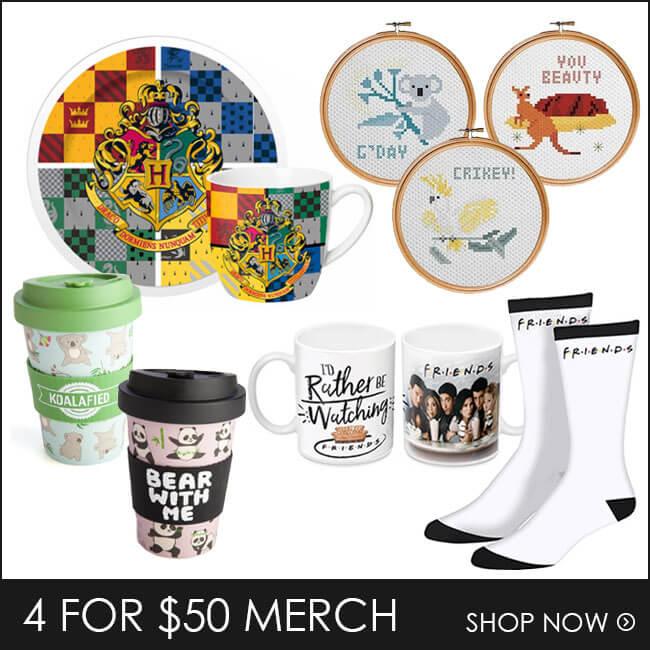 Shop 4 for $50 Merch