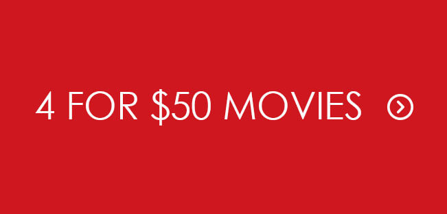 Shop 4 for $50 Movies