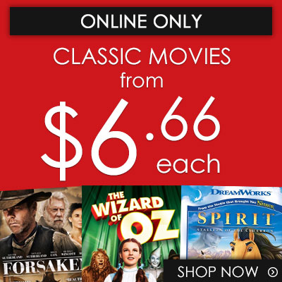 Buy Classic Movies from $6.66