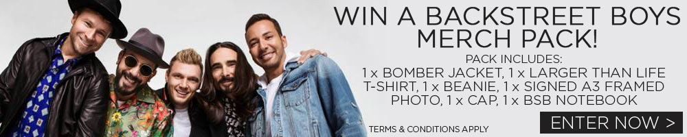 Win A Backstreet Boys Merch Pack!