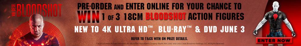 Win 1 of 3 Bloodshot Action Figures