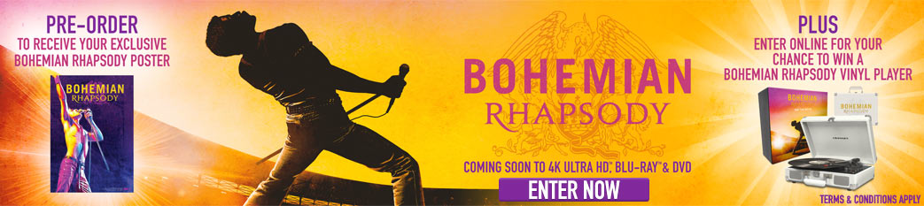 Pre-order Bohemian Rhapsody & Click Here To Enter!