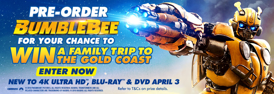 Pre-order & Enter To Win A Family Trip To The Gold Coast