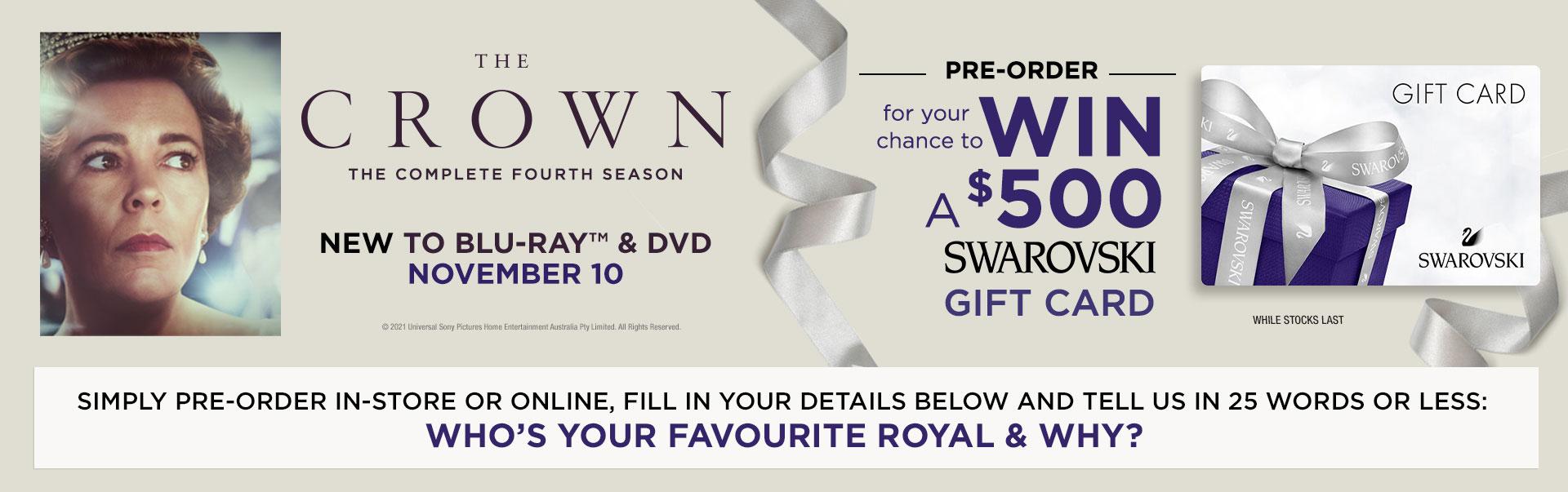 EnterThe Crown Season 4 comp below!