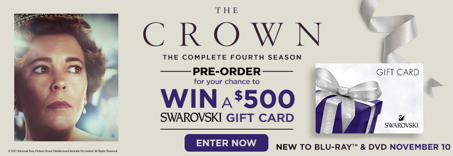 Pre-order The Crown Season 4 & Click Here To Enter