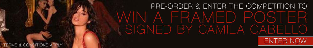 Win A Framed Poster Signed By Camila Cabello