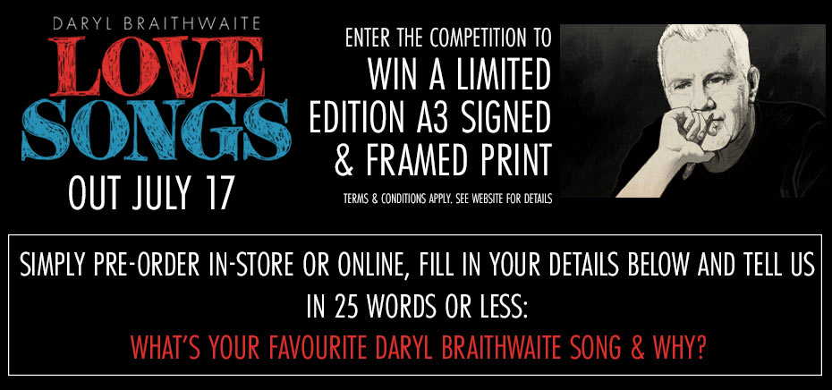 Win A Limited Edition A3 Signed & Framed Print