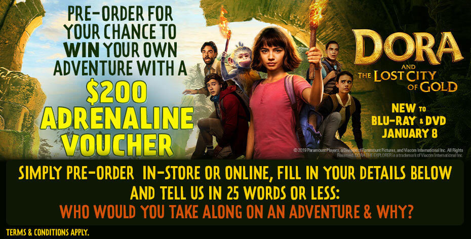 Win A $200 Adrenaline Voucher