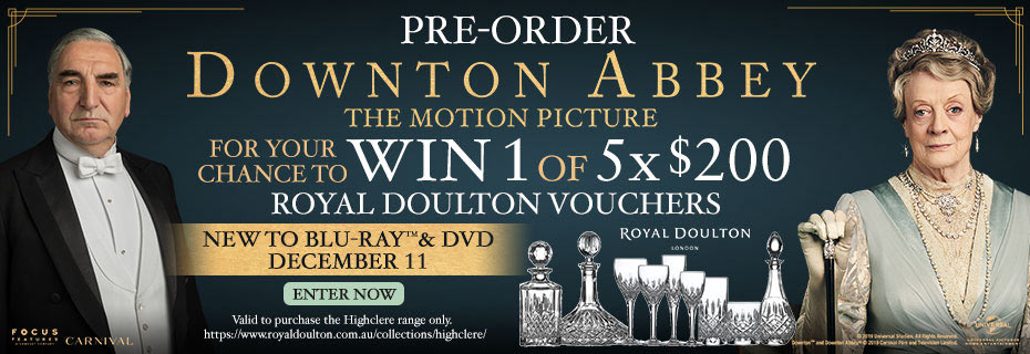 Pre-order & Enter To Win 1 Of 5 $200 Royal Doulton Vouchers
