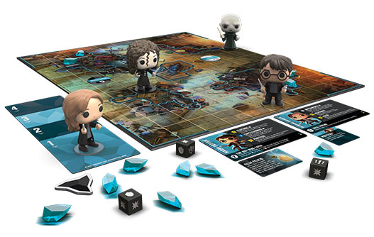 Funkoverse - Harry Potter 4-pack Strategy Board Game