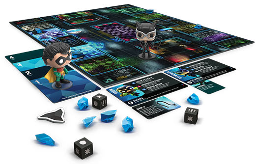 Funkoverse - Batman 2-Pack Expandalone Strategy Board Game