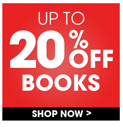 Save Up To 20% On In Stock Books