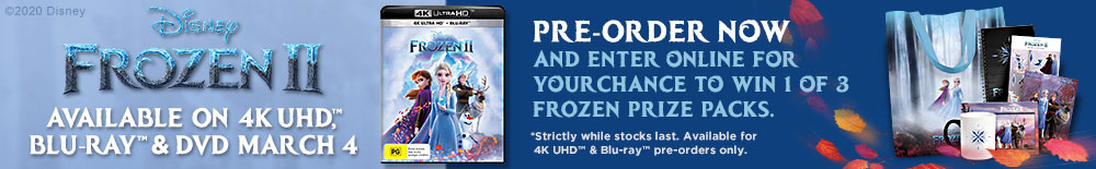 Win 1 of 3 Frozen Prize Packs
