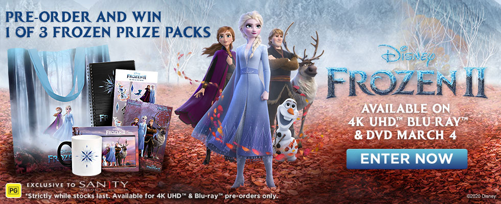 Pre-order Frozen 2 & Click Here To Enter
