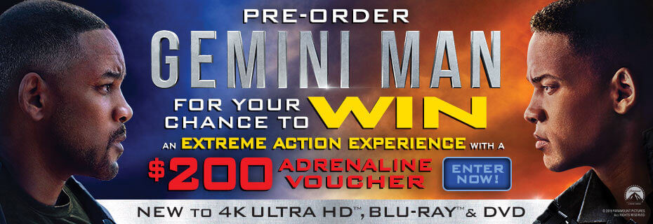 Pre-order Gemini Man & Click Here To Enter