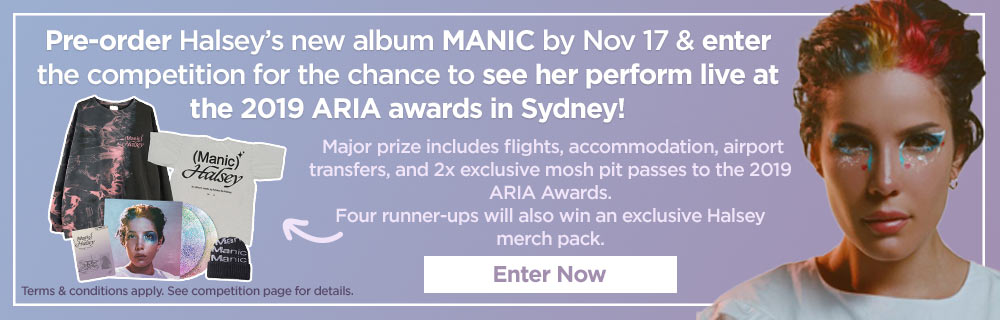 Enter For Your Chance To See Halsey At The ARIAs