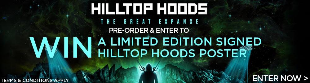 Win A Signed Hilltop Hoods Poster