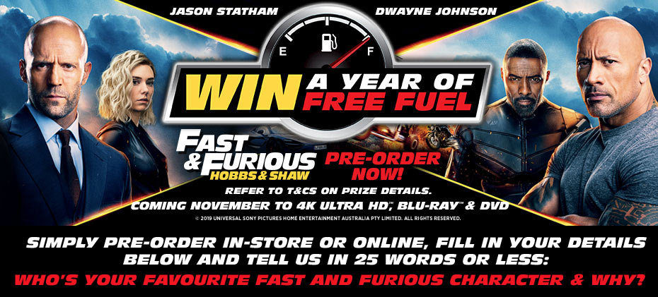 Pre-order & Enter To Win A Year's Worth Of Fuel