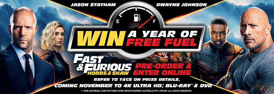 Pre-order Hobbs And Shaw & Enter For Your Chance To WIN!