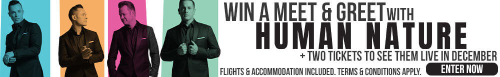 Win A Meet & Greet With Human Nature