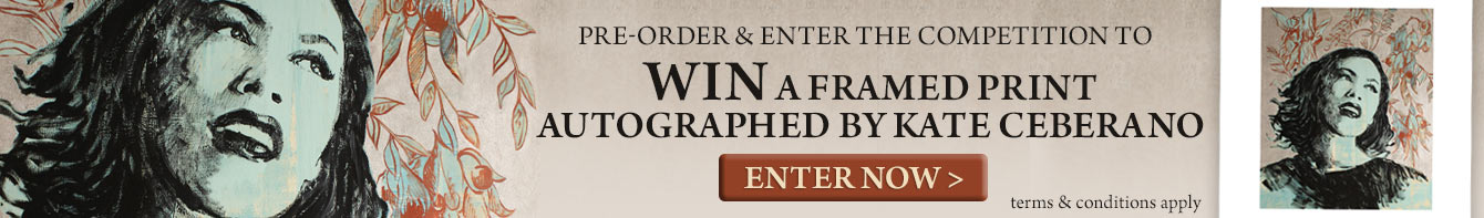 Win A Framed Print Autographed By Kate Ceberano