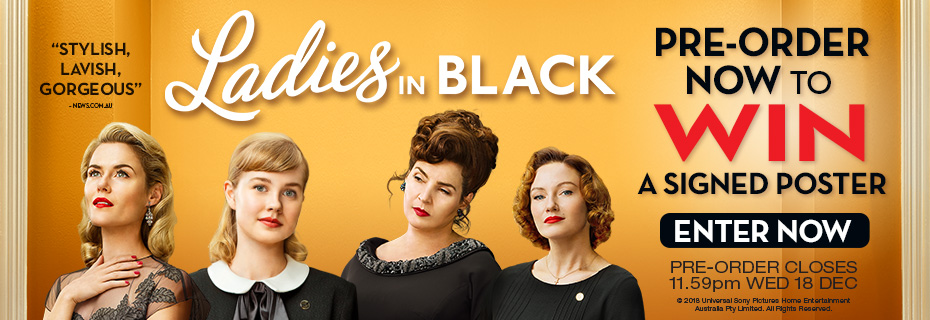 Win A Ladies In Black Poster Signed By The Cast