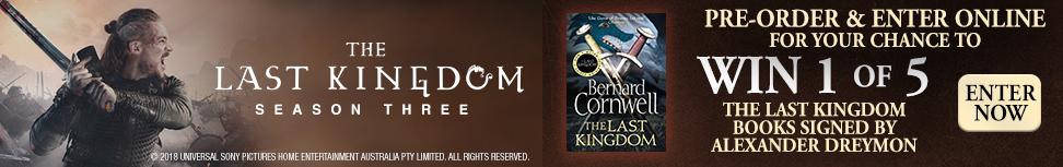 Win 1 Of 5 Signed The Last Kingdom Books!