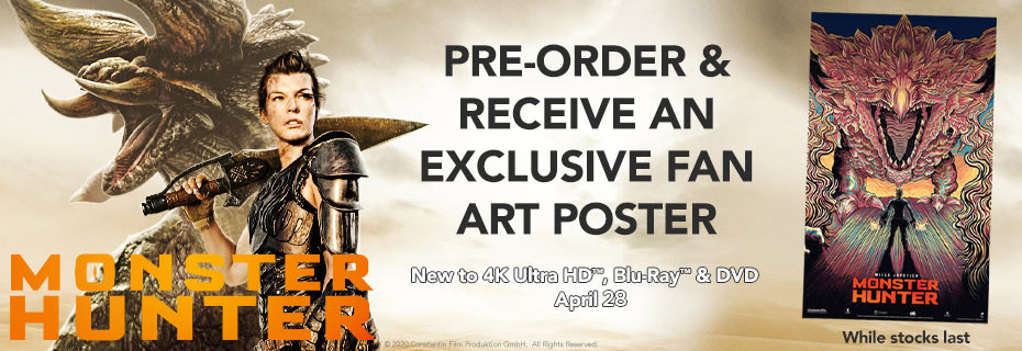 Pre-order & receive an exclusive fan art poster