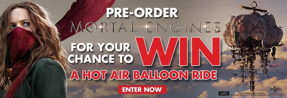 Win A Hot Air Balloon Ride!