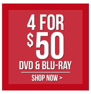 Buy 4 Movies For $50