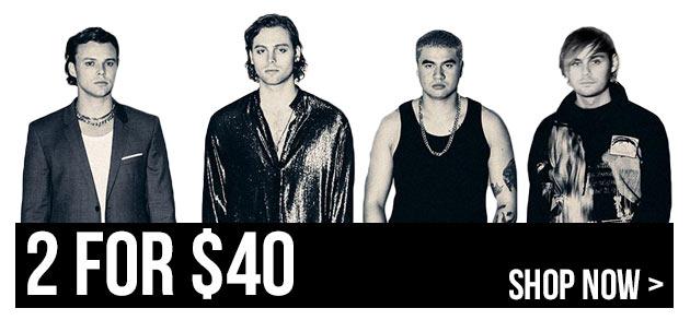 Buy 2 CDs For $40
