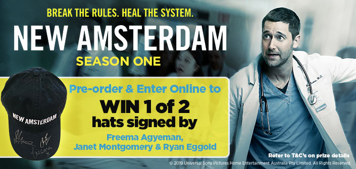 Pre-order New Amsterdam & Enter For Your Chance To Win