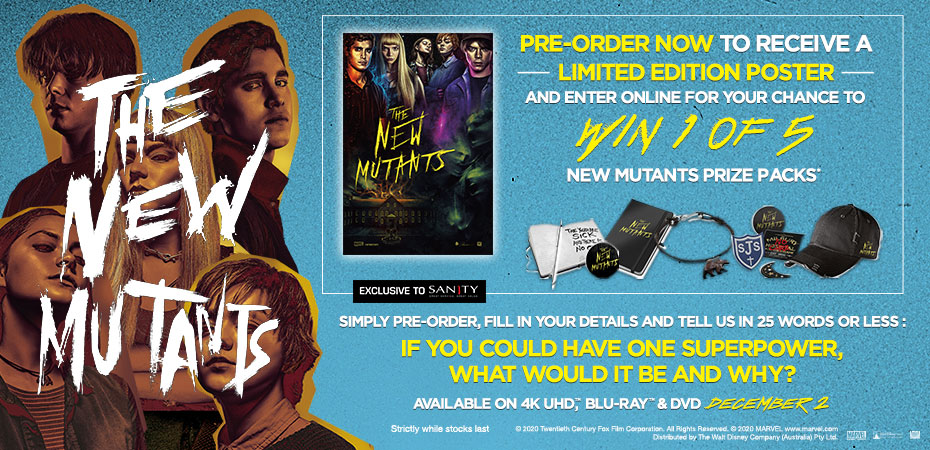 Win 1 of 5 New Mutants Prize Packs