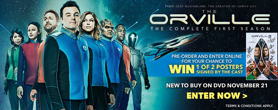 Win 1 Of 2 Posters Signed By The Orville Cast