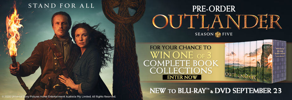 Win 1 of 3 Complete Outlander Book Collections