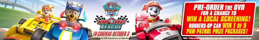 Win A Private Screening Of Paw Patrol Ready Race Rescue