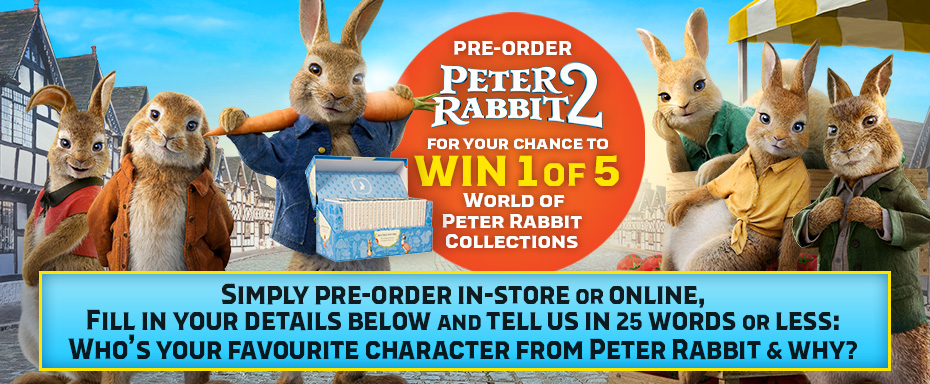 Pre-order Peter Rabbit 2 & Enter The Competition Below