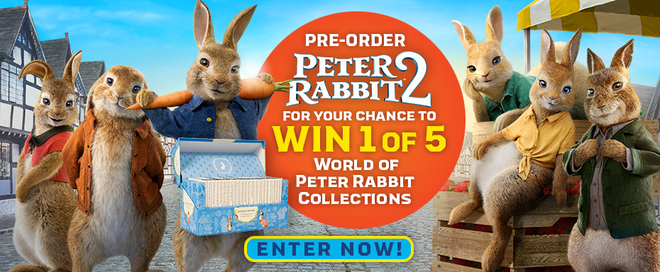 Pre-order Peter Rabbit 2 & Click here to enter the competition